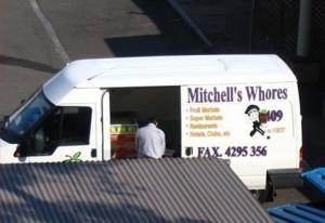 Mitchell's van