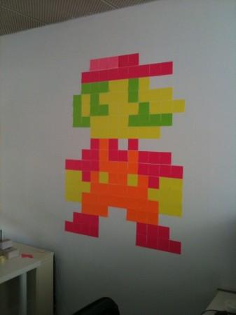 Post-It Note Mario