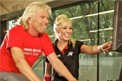 Some bloke called Branson enjoying the facilities at Virgin Active