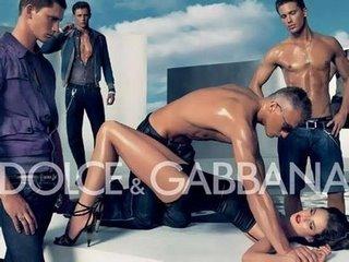 Dolce and Gabbana ad